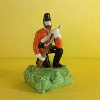 An unusual Derby (King Street Works) small figure