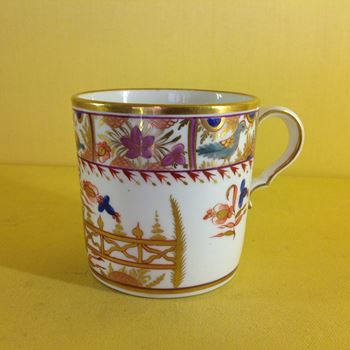 A Spode coffee can