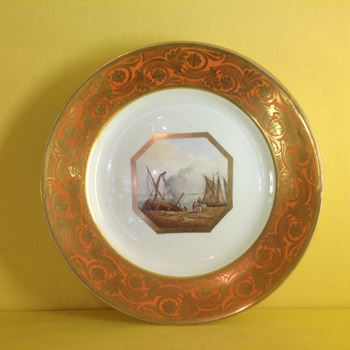 A Derby plate