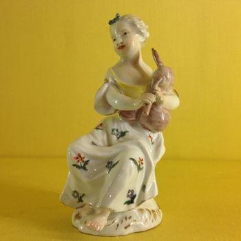 A Meissen figure