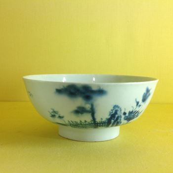 A rare Worcester small round bowl