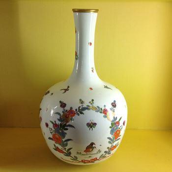 A fine Meissen large 'Augustus Rex' bottle vase