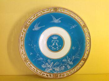 A fine Minton plate