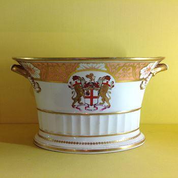 A rare Chamberlain's Worcester salad bowl