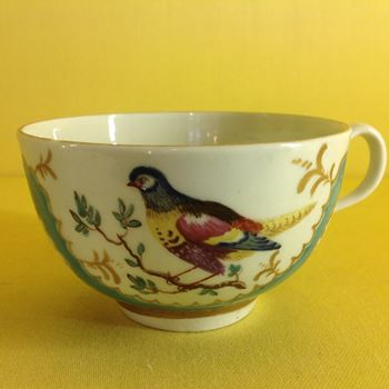 A very rare Worcester tea cup