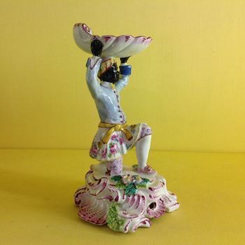A rare Bow sweetmeat figure