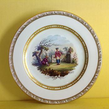 A rare Spode plate