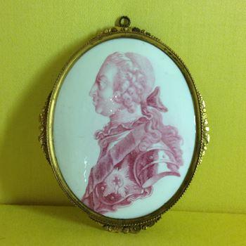 A fine Battersea enamel plaque