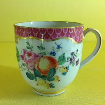 A rare Worcester coffee cup