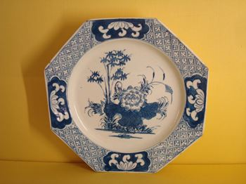 A Bow octagonal plate