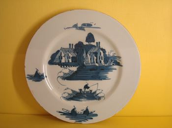 A Bristol Delft plate