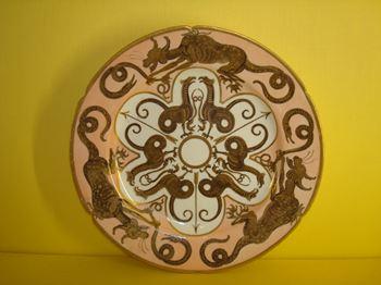 A Coalport 'Etruscan' style plate