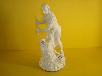 A Meissen figure of a Wheelwright