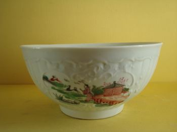 A fine Worcester bowl