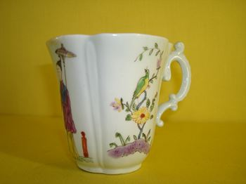 An early Worcester coffee cup