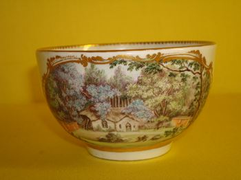An unrecorded Worcester teacup