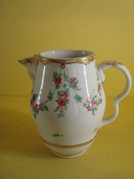 A rare Bristol milk jug