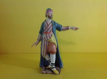 A rare Doccia figure of a Turk