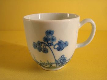 A rare early Bow coffee cup